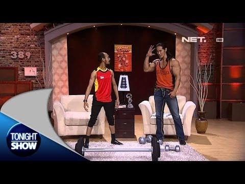 Tonight Show - Krempeng Kurus jadi Binaragawan - Ade Rai