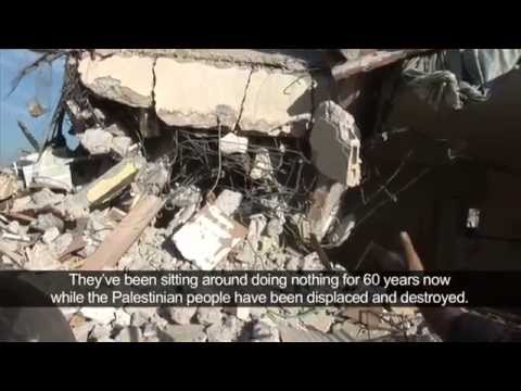 Israel Palestine- The Gaza War From Ground Level