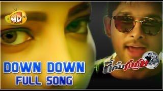 Race Gurram ᴴᴰ Full Video Songs Down Down Duppa Song