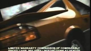 1987 Dodge Daytona Commerical