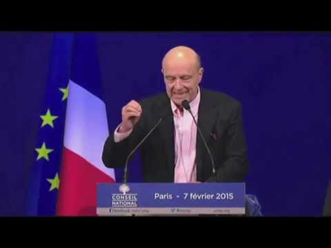 Alain Juppé annonce la victoire de l'union Gironde Positive !