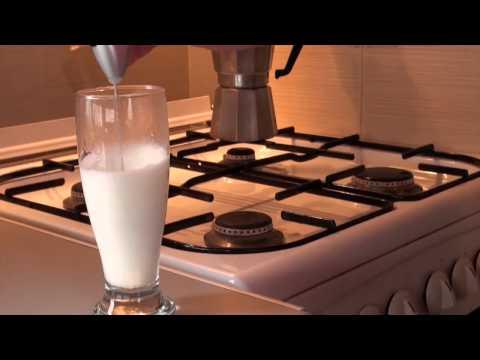 Faceti corect cafea cu lapte intr-un minut