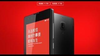 Xiaomi Hongmi 1S Redmi 1S First Look!Snapdragon Msm8228 1