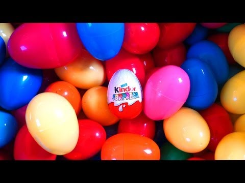 Surprise eggs Spiderman Marvel huevo kinder sorpresa