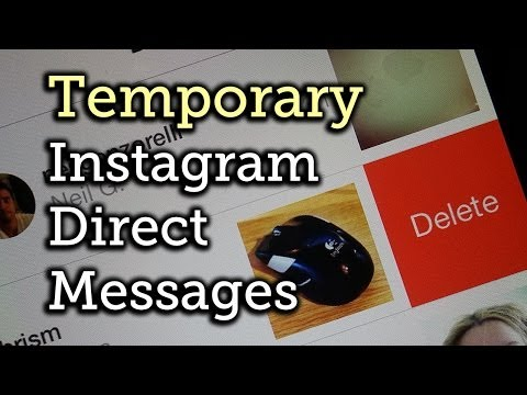 Delete Photos & Videos You Sent to Someone Using Instagram Direct - Android + iOS [How-To]