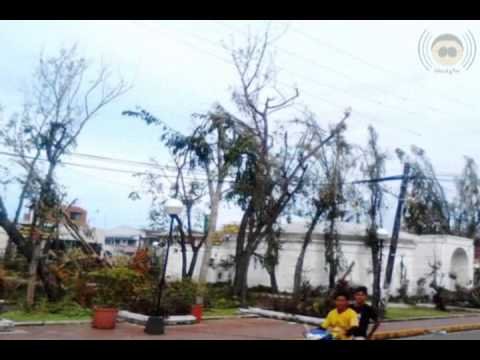 Aftermath of Super Typhoon Yolanda in Roxas City, Capiz, Philippines