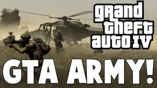 Grand Theft Auto IV GTA ARMY (Mods)