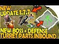 NEW UPDATE NEW BOSS DEFENSE TURRET PARTS INBOUND Last Day On Earth Survival Update