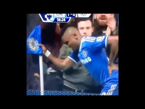 Watch Eto'o mock Mourinho in 'GrandPa' Celebration