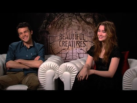 'Beautiful Creatures' Alden Ehrenreich and Alice Englert Interview
