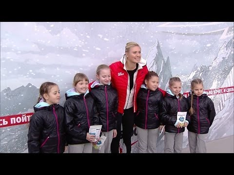 Maria Sharapova Visits Her Very First Tennis Court in Sochi