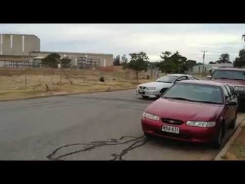 Holden VY SS Ute P Plater Burnout