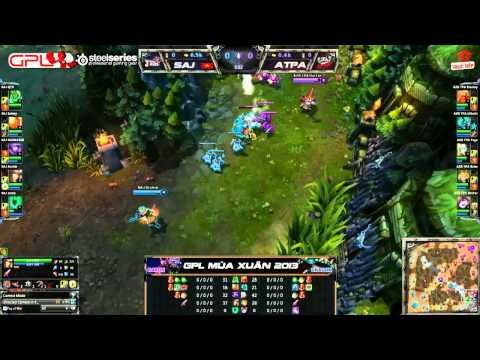 [GPL 2013 Mùa Xuân] [Tuần 13] Saigon Jokers vs Azubu Taipei Assassins [13.04.2013]