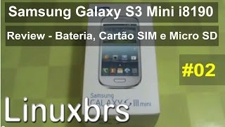 Samsung Galaxy S III Mini GT I8190 Review Bateria