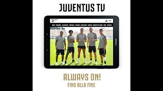 Juventus TV available now!