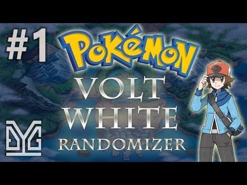 Pokémon Volt White Randomizer Nuzlocke #1: Mini-game :v