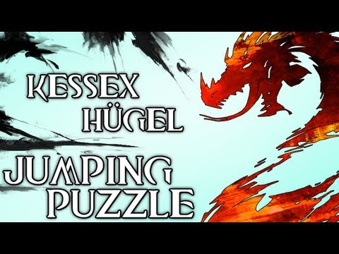 Guild Wars 2 - Kessex-Hügel Jumping Puzzle [German HD]