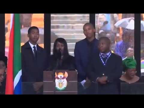 Fake sign interpreter at nelson mandela funeral