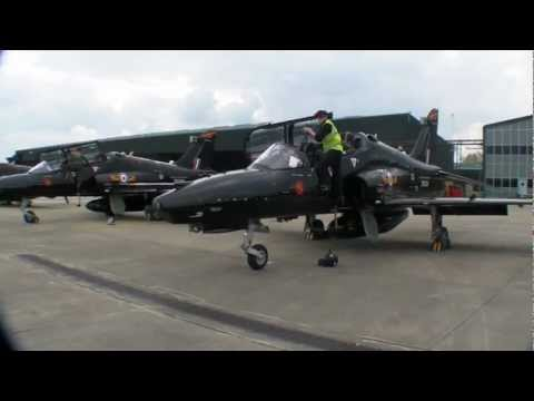 Queen's Diamond Jubilee EIIR Flypast - a pilots view from a Hawk T2