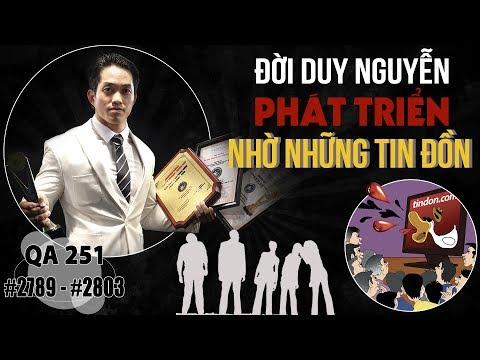 Hỏi đáp thể hình 251 - Tỉnh táo trước những tin đồn về Duy Nguyễn hay THOL không chính thống