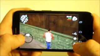 Motorola Moto G: GTA San Andreas Para Android A Prueba