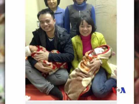 2 trẻ song sinh chào đời từ tinh trùng người cha quá cố