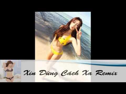 Xin Đừng Cách Xa Remix (Châu Khải Phong) - Version Sóc Chuột [Lyric]