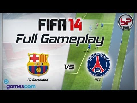 FIFA 14  геймплей и статистика игроков