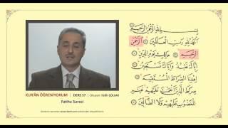Fatiha suresi nasıl okunur?