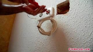 Como empotrar el cable de antena -1