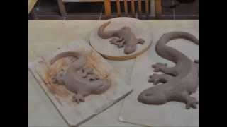 How To Make A Clay Lizard