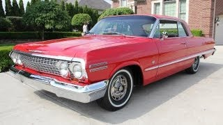 1963 Chevy Impala SS Classic Muscle Car For Sale In MI