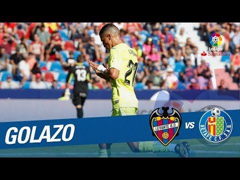 Golazo de Fajr (0-1) Levante UD vs Getafe CF