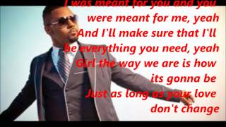Musiq Soulchild Don't Change Lyrics