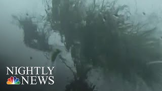 Inside Lester Holt's Hotel As Hurricane Michael Makes Powerful Landfall | NBC Nightly News