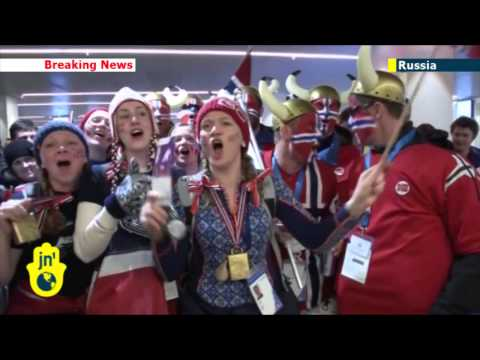 Sochi Winter Olympics: Norway and Canada lead medal table as fans enjoy Russian hospitality