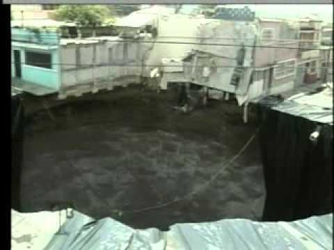 Demandan a la Municipalidad de Guatemala por pérdida de empresa en Agujero de zona 2