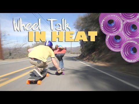 Orangatang In Heat Longboard Wheels 86A 75mm