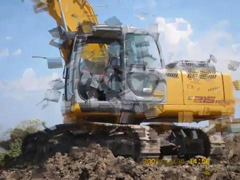 camion ed escavatori lavor statale 106 siderno