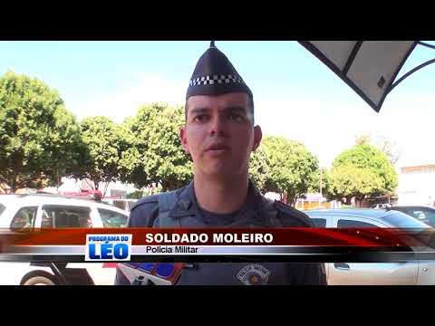 03/06/2018 - Polícia Militar de Guaíra apreende drogas e arma de fogo no Bairro João Vacaro
