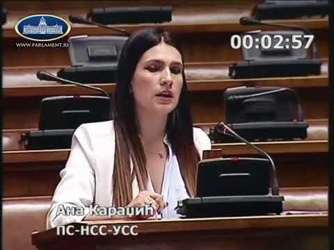 Ана Караџић о избору министра финансија 28.5.2018.