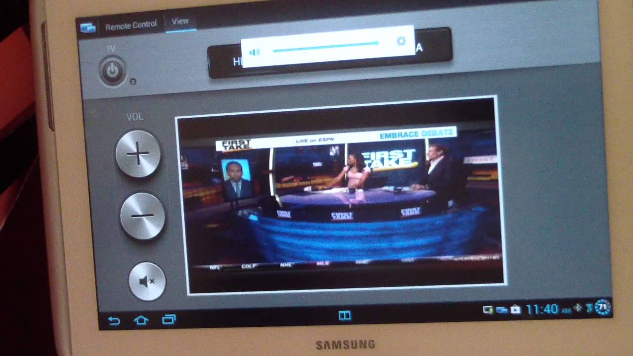 Samsung galaxy note 10 1 smartview smart view2013 app for Mirror for samsung tv