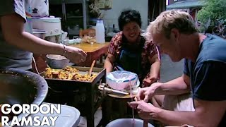 Gordon Ramsay Learns How To Make A Thai Sausage | Gordon's Great Escape