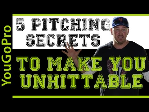 5 Baseball Pitching Secrets to be UNHITABLE!
