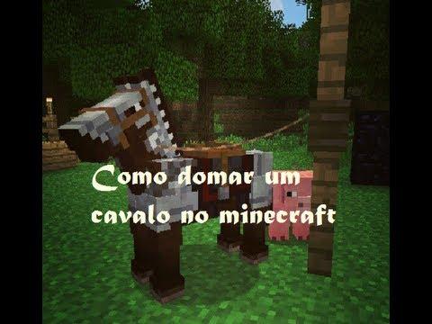 Como domar um cavalo no Minecraft 1.8
