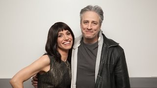 Catie Lazarus's Uncircumcised Interview with Jon Stewart