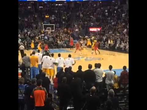 Randy Foye Denver Nuggets hits game winner