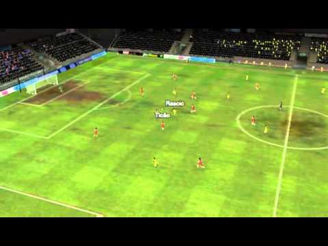 Sun Pegasus - South China - Gol de Daniel 42 minutos