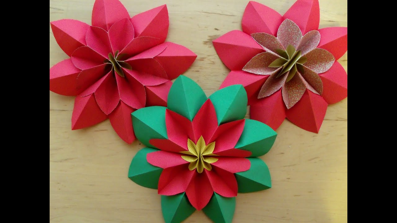 Paper Flower Origami Youtube Origami Lotus Flower Youtube Beauteous