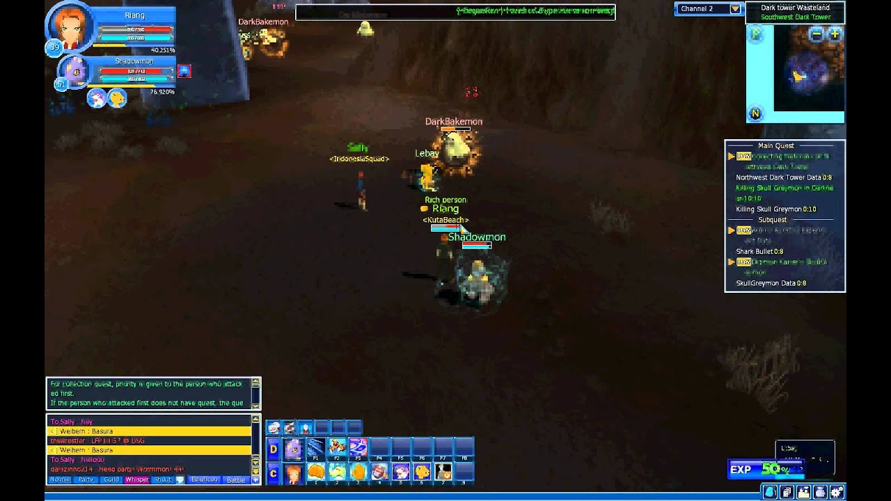 free download bot digimon masters online